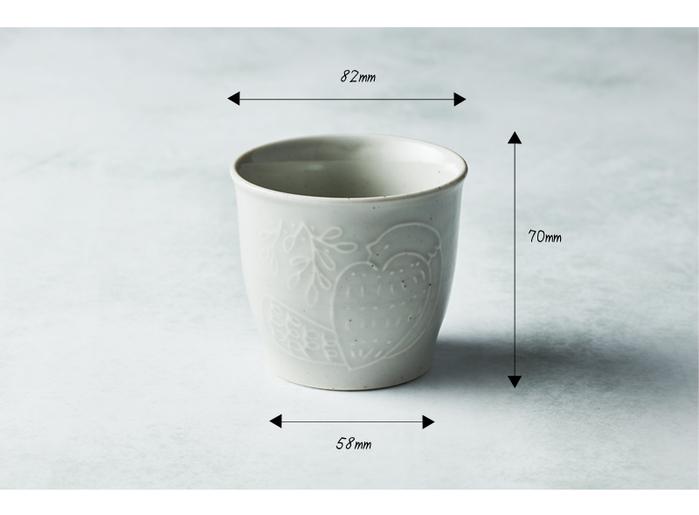 石丸波佐見燒|森之歌陶杯 - (2件組)