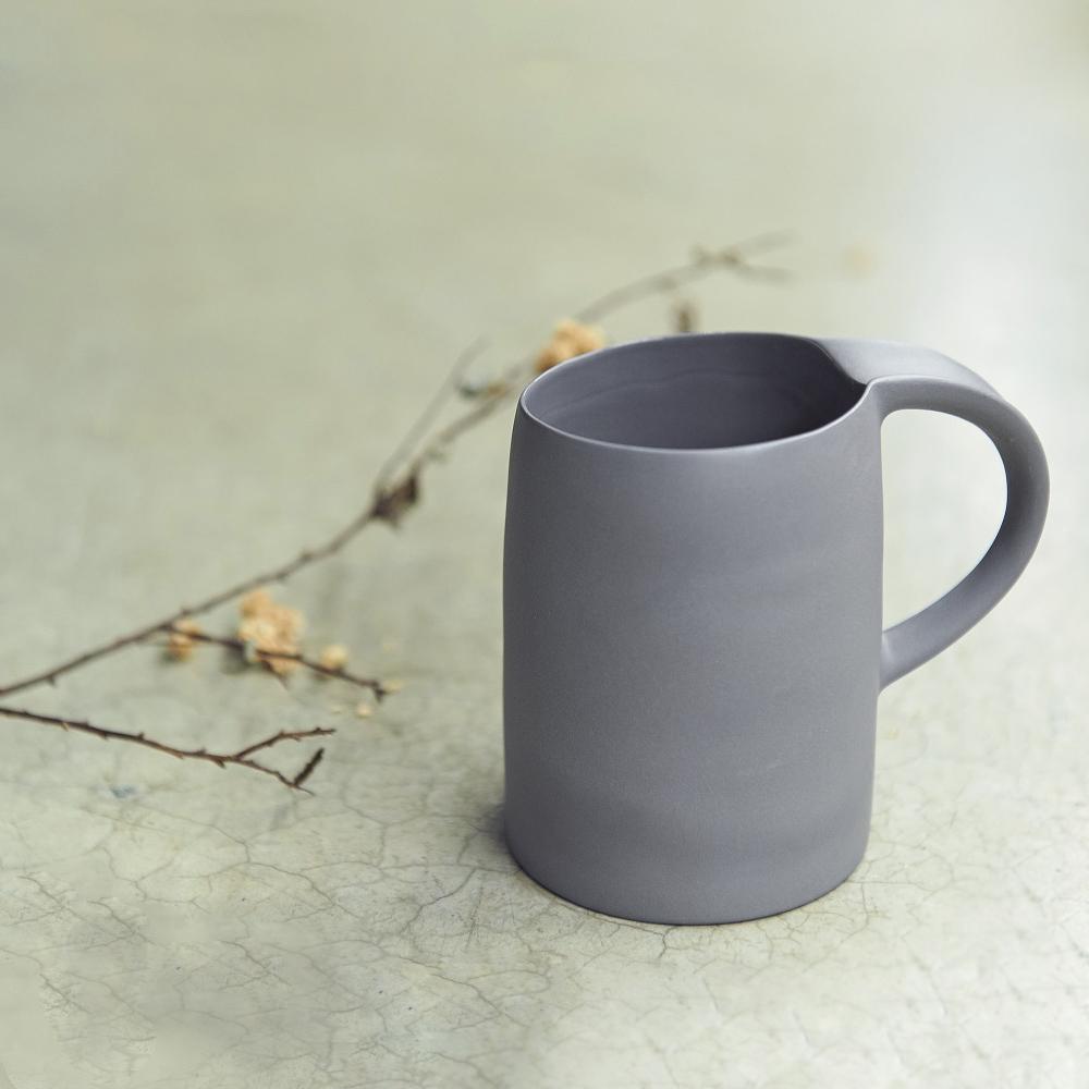 3,co│水波馬克杯 - 灰