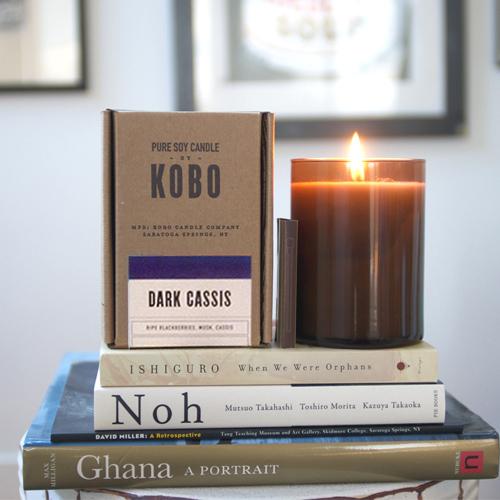 KOBO │美國大豆精油蠟燭 - 法式莓麗 (435g/可燃燒100hr)