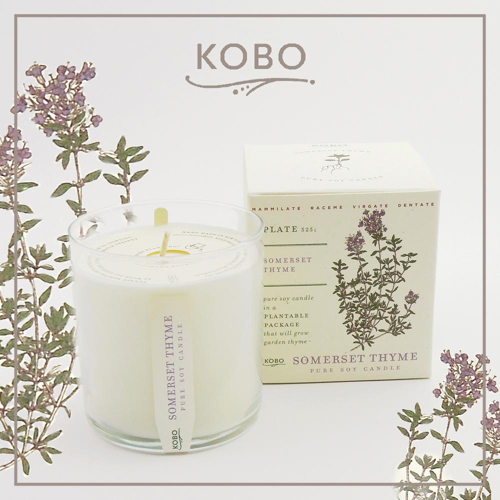 KOBO │美國大豆精油蠟燭 - 百里芳香 (280g/可燃燒60hr)