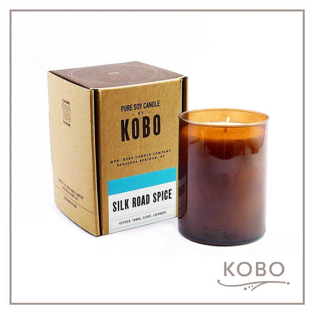 KOBO │美國大豆精油蠟燭 - 絲路點滴 (435g/可燃燒100hr)