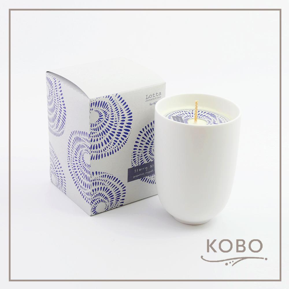 KOBO │美國大豆精油蠟燭 - 甜蜜星空(330g/可燃燒70hr)