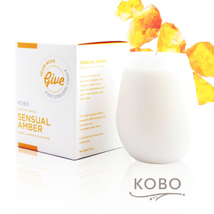 KOBO │美國大豆精油蠟燭 - 慾望琥珀 (回饋系列50hr)