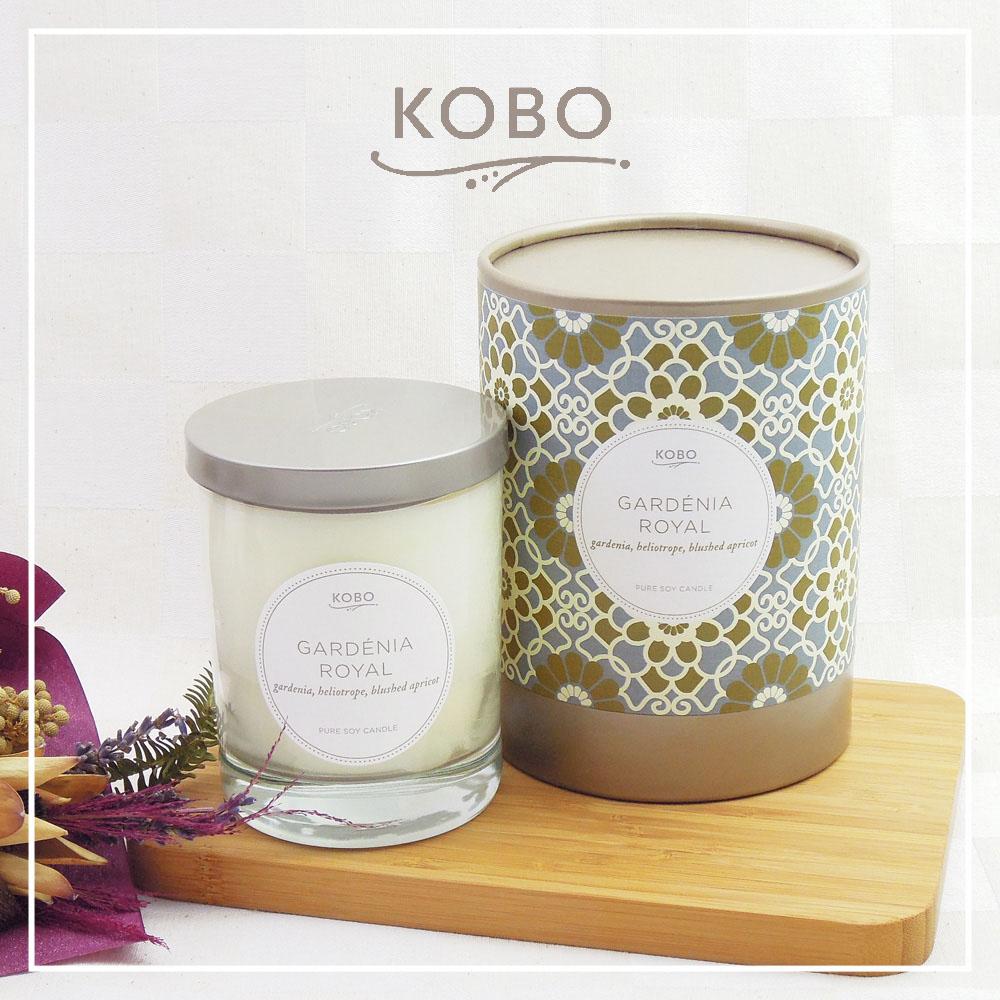 KOBO │美國大豆精油蠟燭 - 皇室槴花 (330g/可燃燒80hr)
