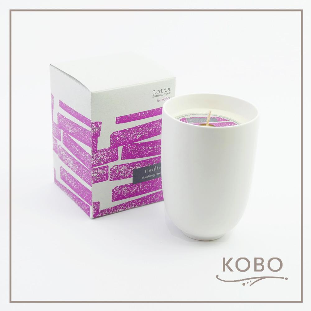 KOBO │美國大豆精油蠟燭 - 浪漫莓園(330g/可燃燒70hr)