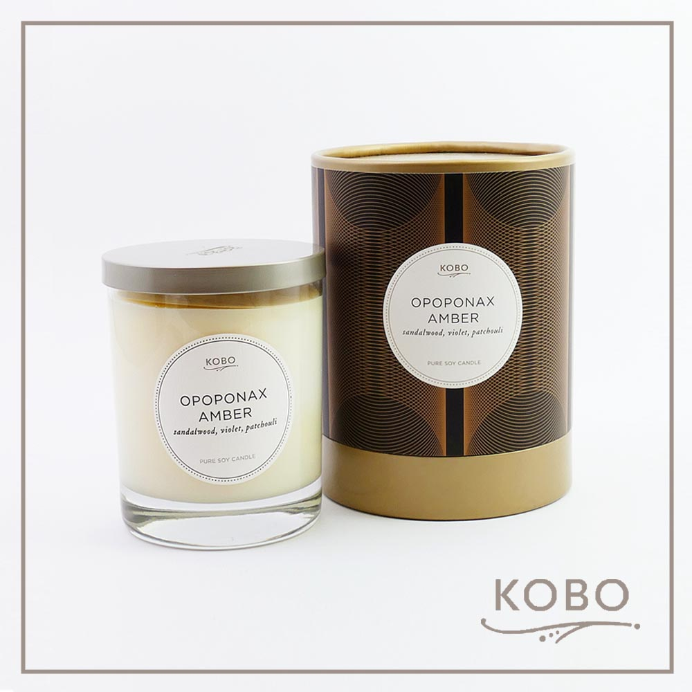 KOBO │美國大豆精油蠟燭 - 琥珀甘菊 (330g/可燃燒80hr)