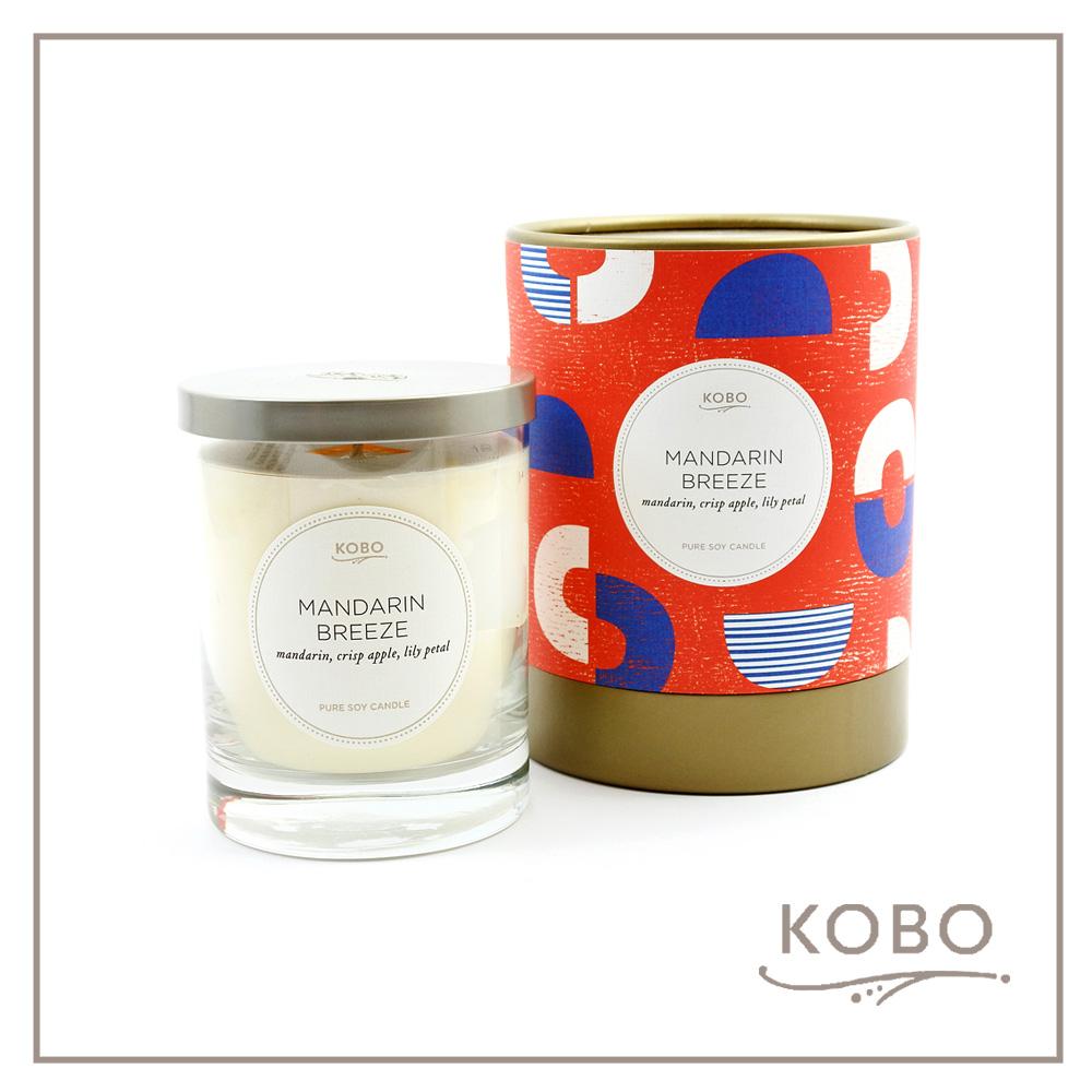 KOBO │ 美國大豆精油蠟燭 - 酸甜滋味 (330g/可燃燒80hr)