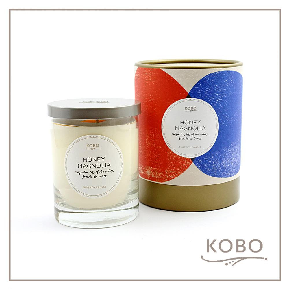 KOBO │ 美國大豆精油蠟燭 - 甜蜜蘭香 (330g/可燃燒80hr)