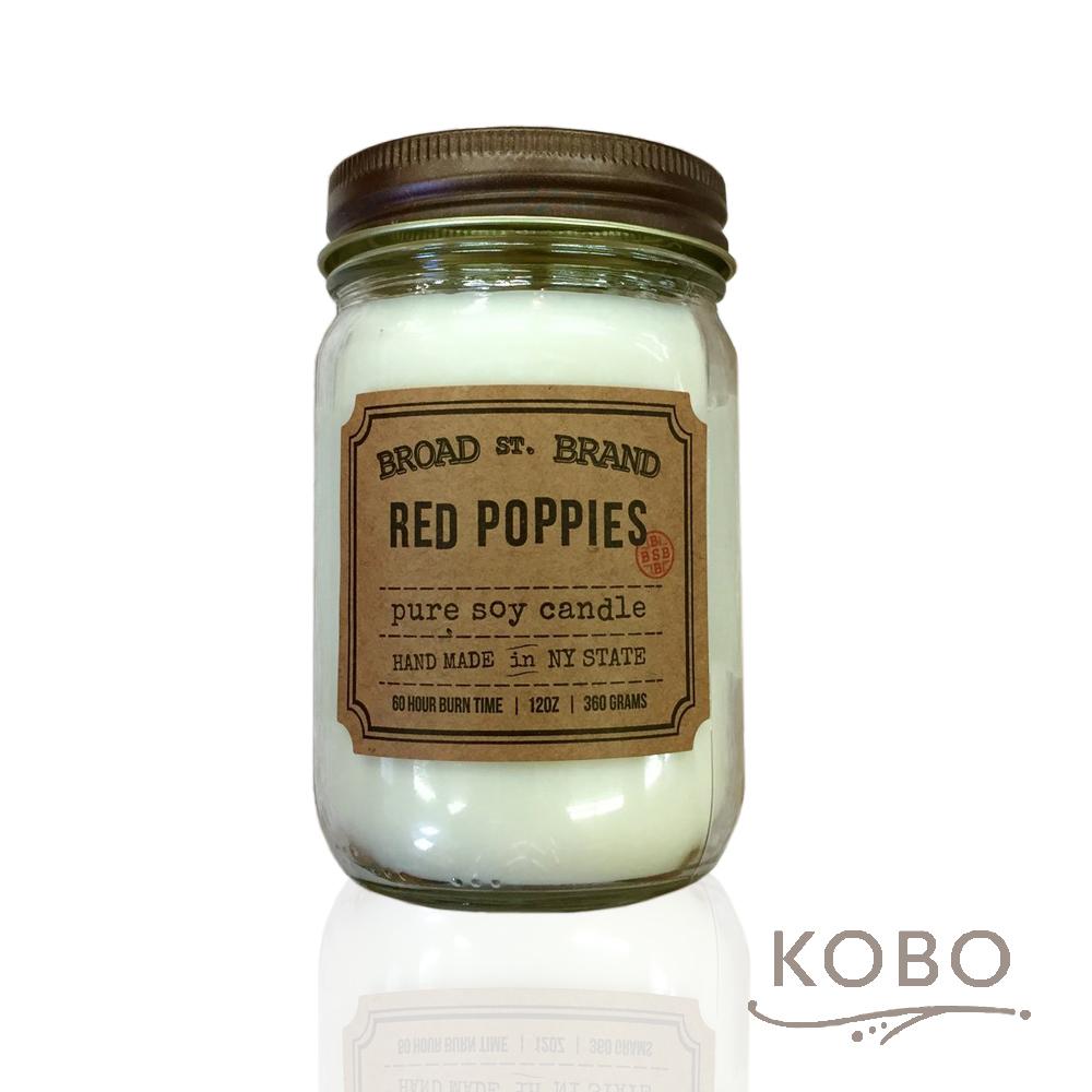 KOBO 美國大豆精油蠟燭 - 甜香罌粟 (360g/可燃燒60hr)