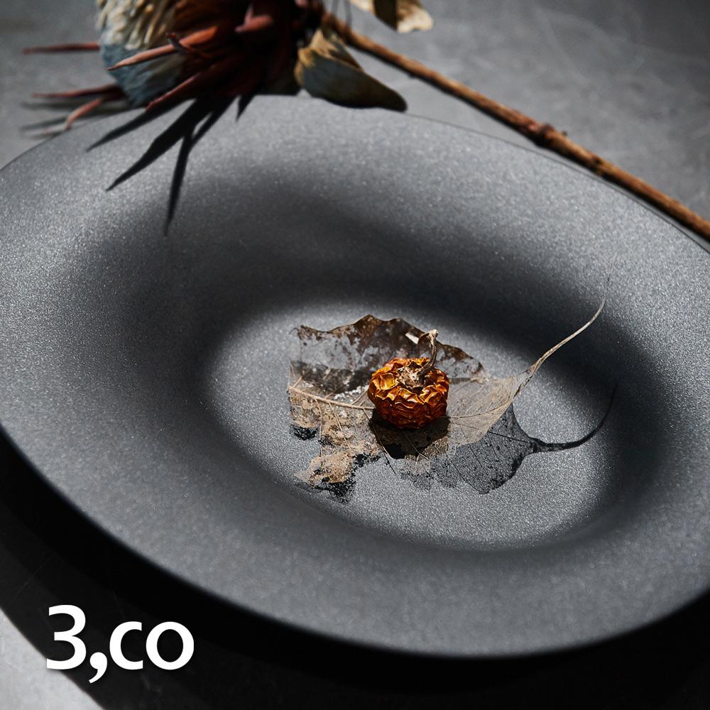 3,co│海洋橢圓盤(大) - 黑