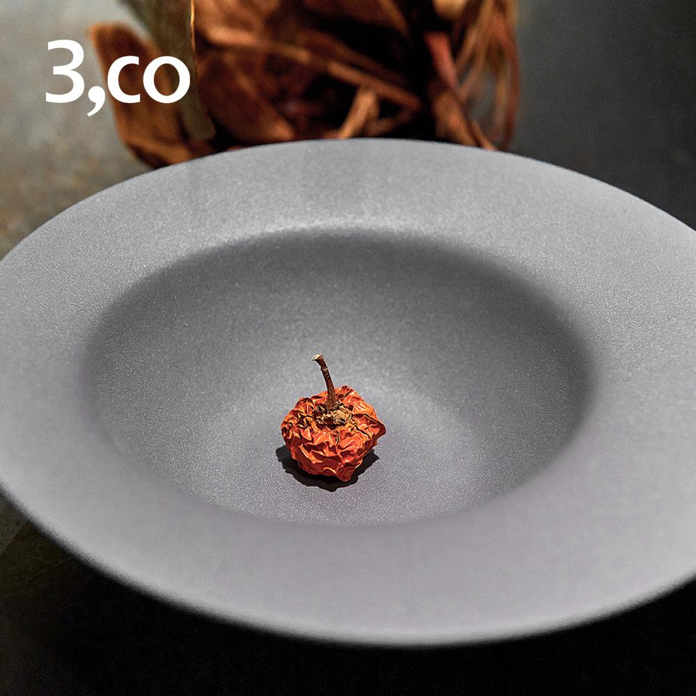 3,co│海洋湯碗(大) - 灰