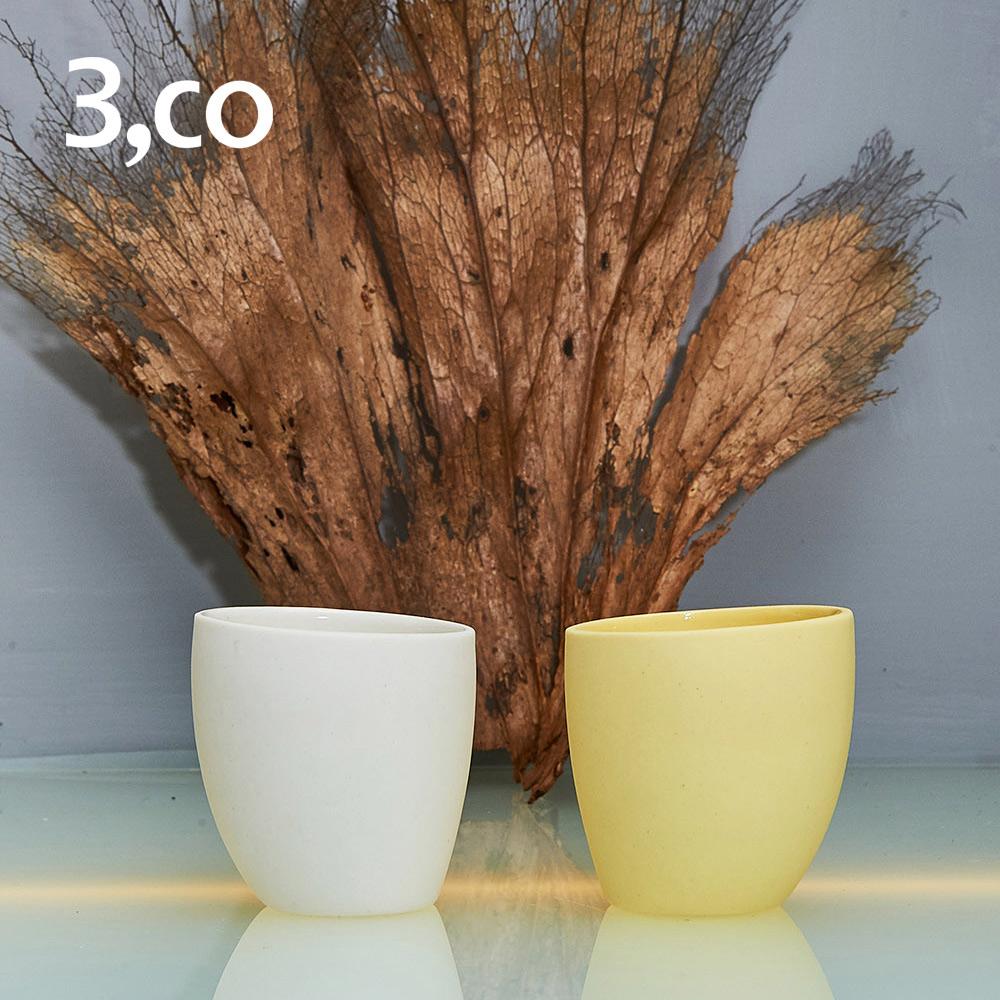 3,co│海洋海鳥小杯(雙色組) - 白+黃