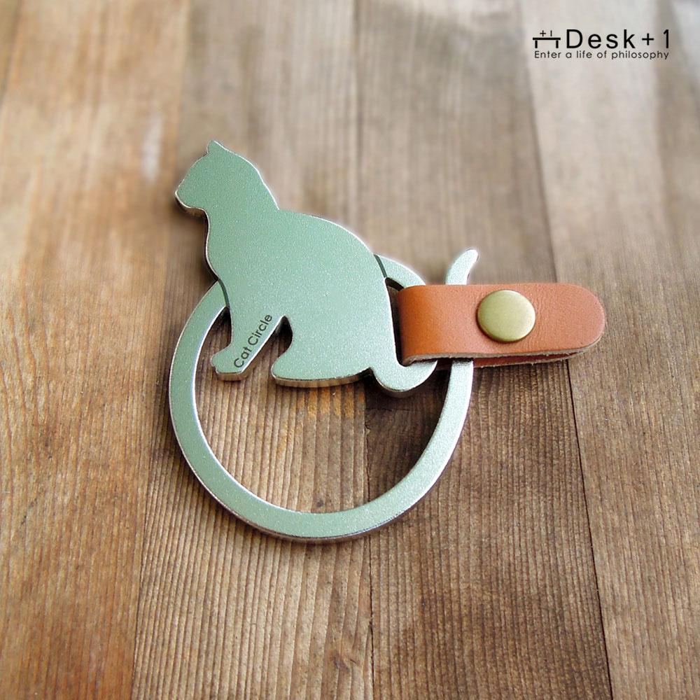 Desk+1 鑰匙圈吊飾(大) - 貓圈現象