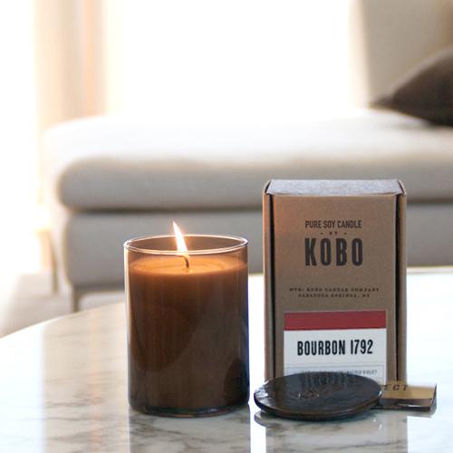 KOBO|美國大豆精油蠟燭 - 美式威士忌 (435g/可燃燒100hr)