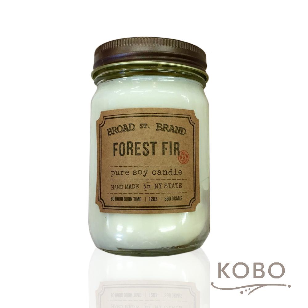 KOBO|美國大豆精油蠟燭 - 叢林冷衫 (360g/可燃燒60hr)