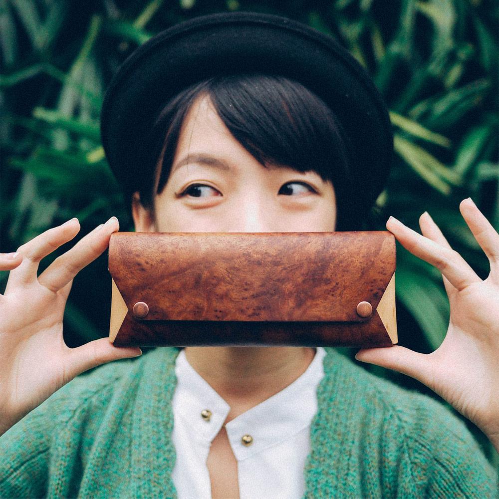 PARSEC|樹革花樟筆袋