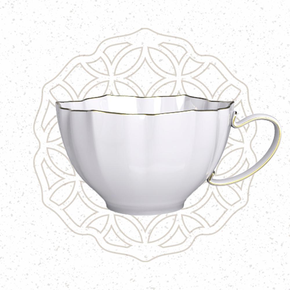 TALES 神話言│花窗舞影.花茶杯-富貴菱花