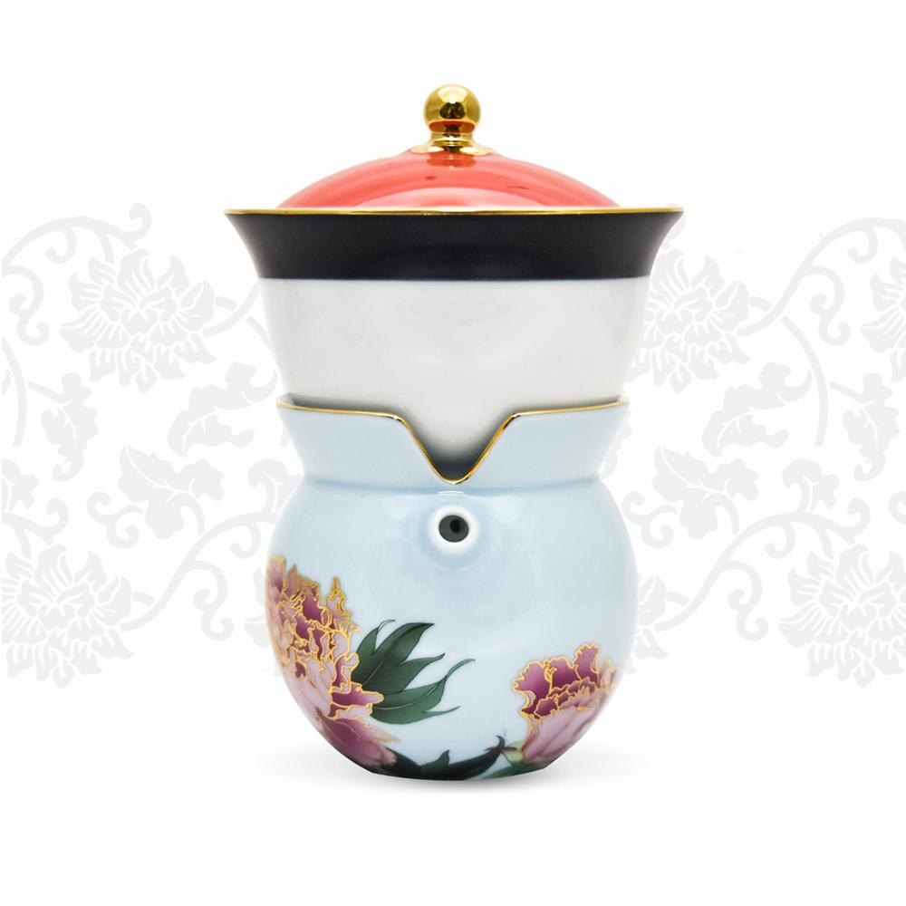 TALES 神話言│小乾隆茶器(2件式)-牡丹(春)