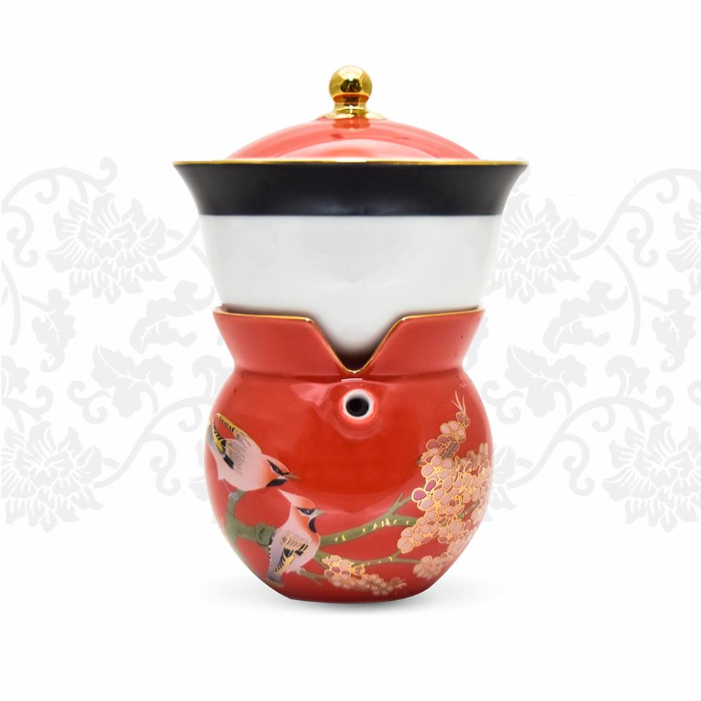 TALES 神話言│小乾隆茶器(2件式)-梅花(冬)