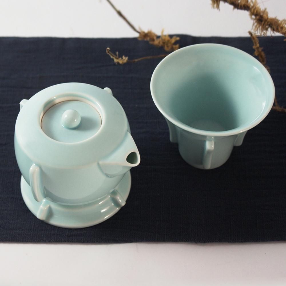 TALES 神話言│典藏故宮.丁香尊壺禮盒組(2件式)(青瓷)