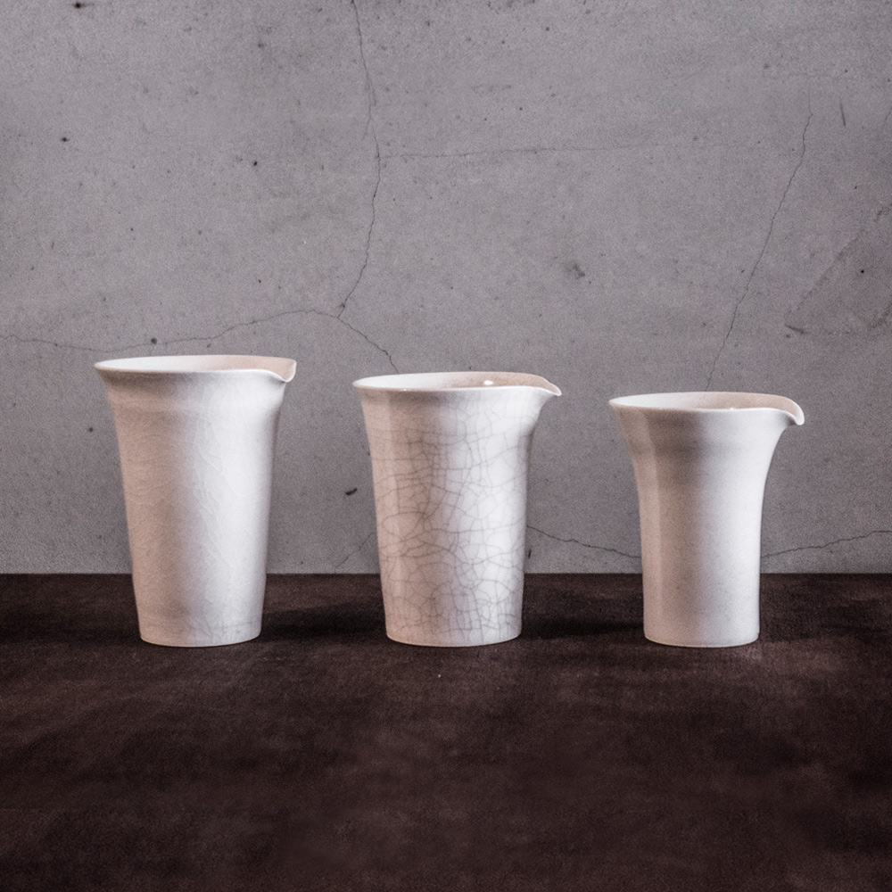 上作美器|白瓷系列 - 茶海(三件組)