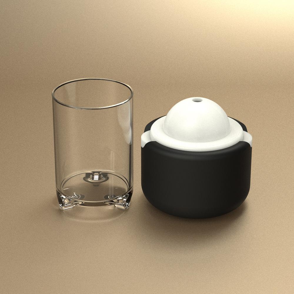 POLAR ICE|極地冰球品酌組 - (單個冰球+杯兩件組)