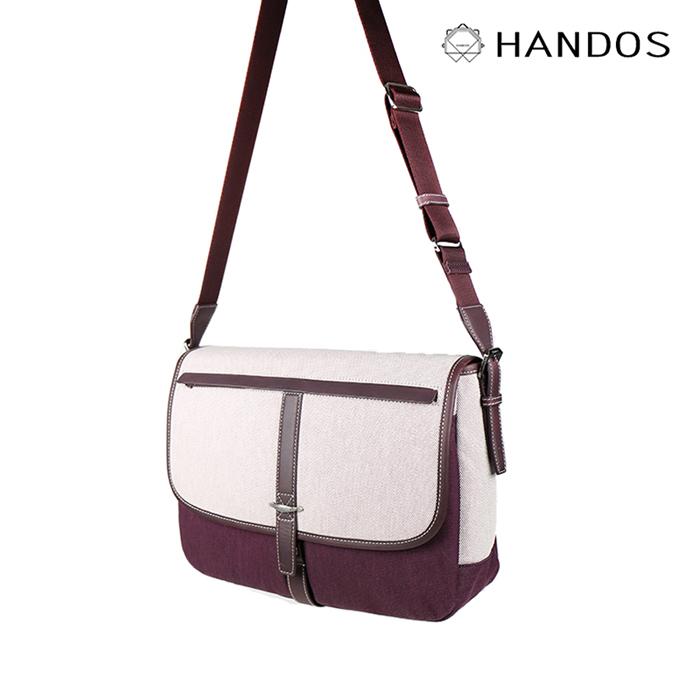 (複製)HANDOS|Jo March 雙色織線帆布書包 - 大海藍