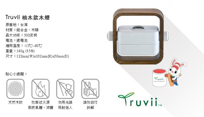(複製)Truvii 膠框版木燈