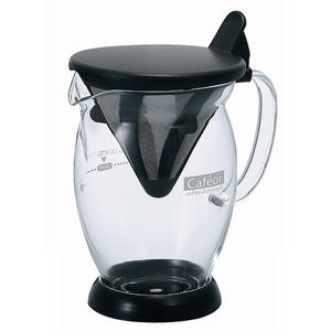 HARIO|V60免濾紙咖啡分享杯300ml CFO-2B