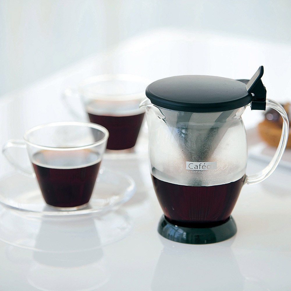 HARIO V60免濾紙咖啡分享杯300ml CFO-2B