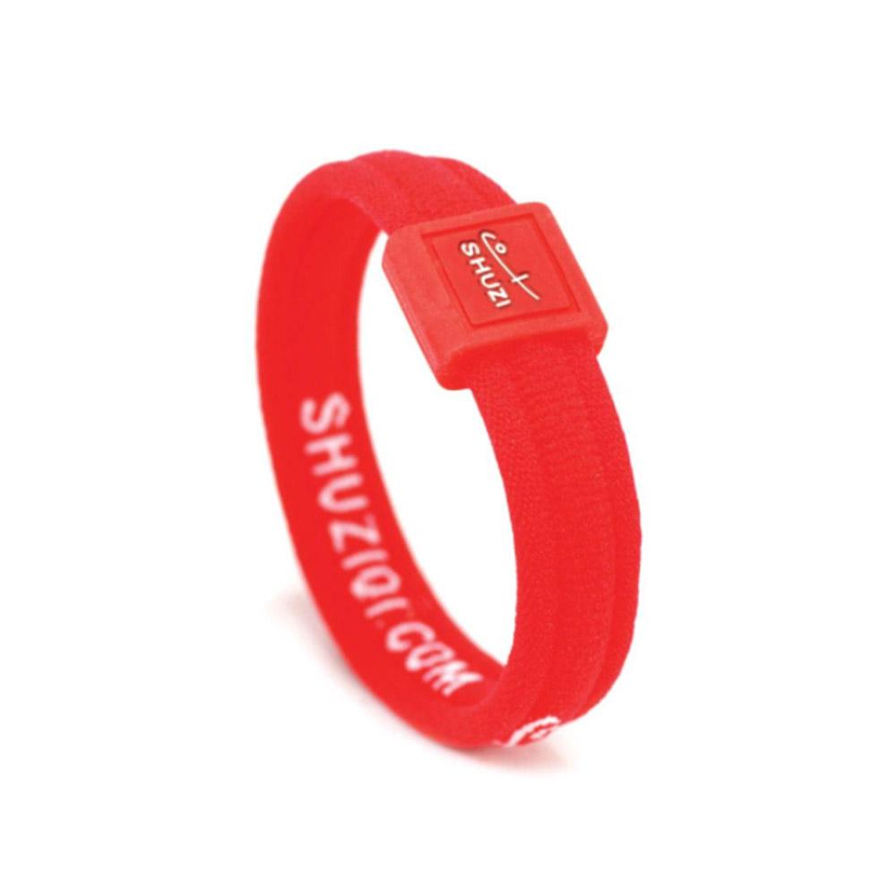 SHUZI™|舒適手環 紅 - 美國製造  CB-R06