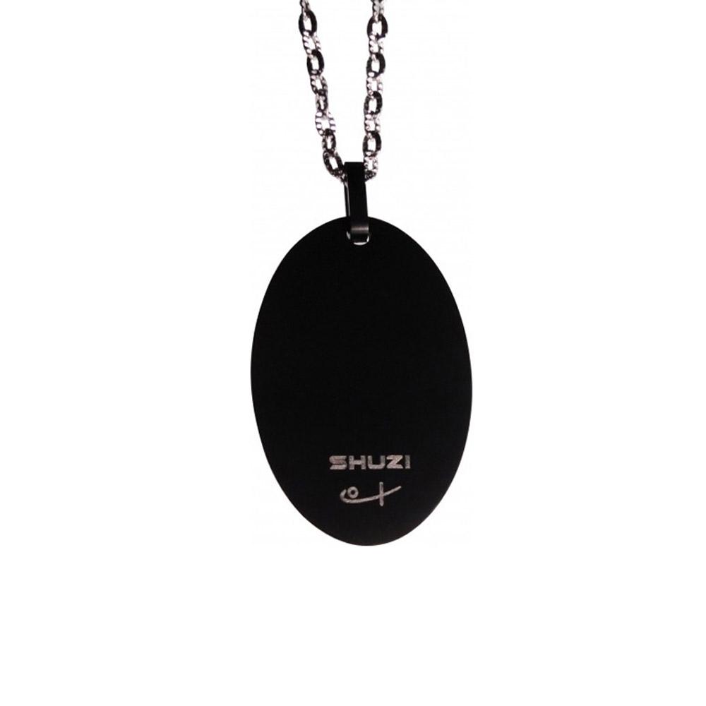 SHUZI™|厚鈦墜鍊 黑 - 美國製造  PT-T09
