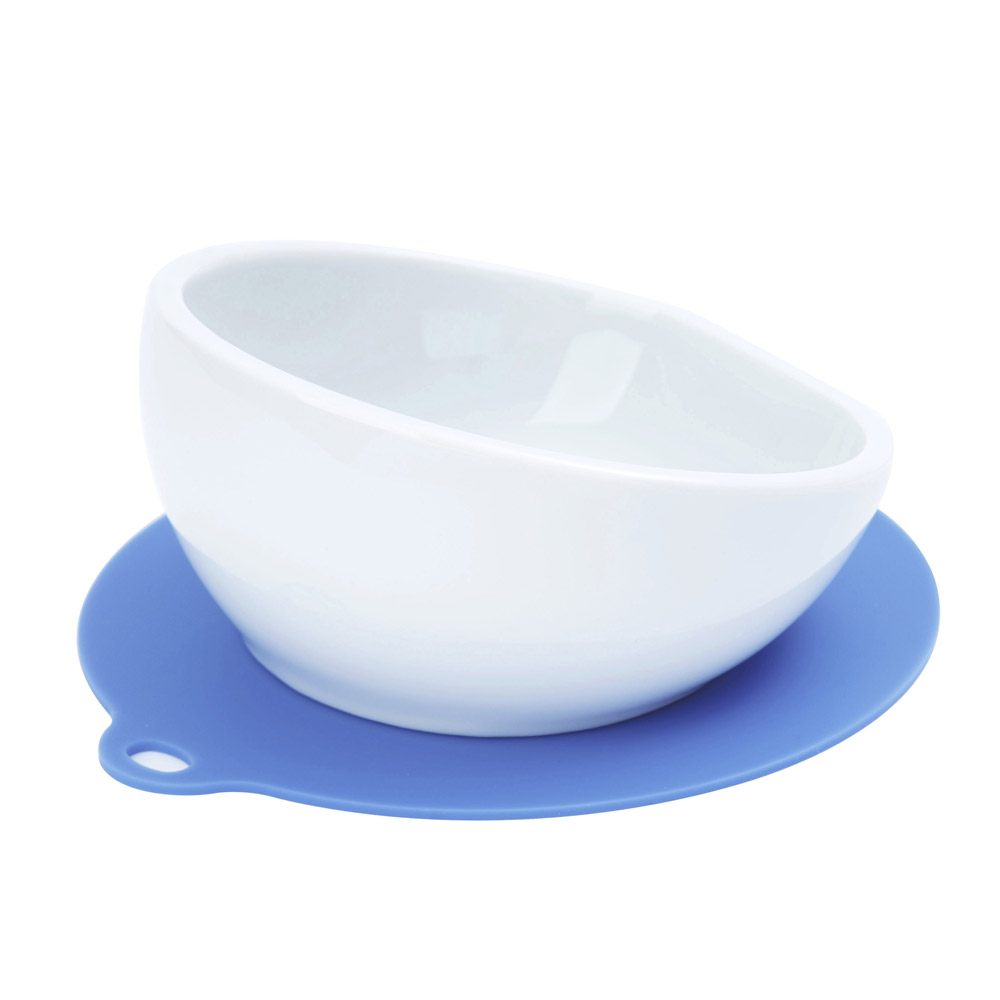 HARIO|小型犬專用粉藍磁碗  PTS-CB-BU