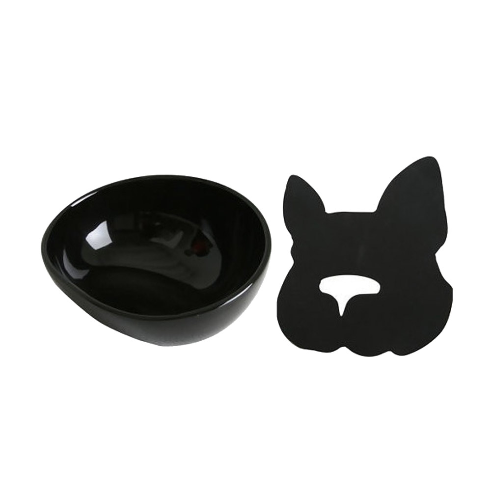 HARIO|黑色法鬥犬專用碗  PTS-BH-B