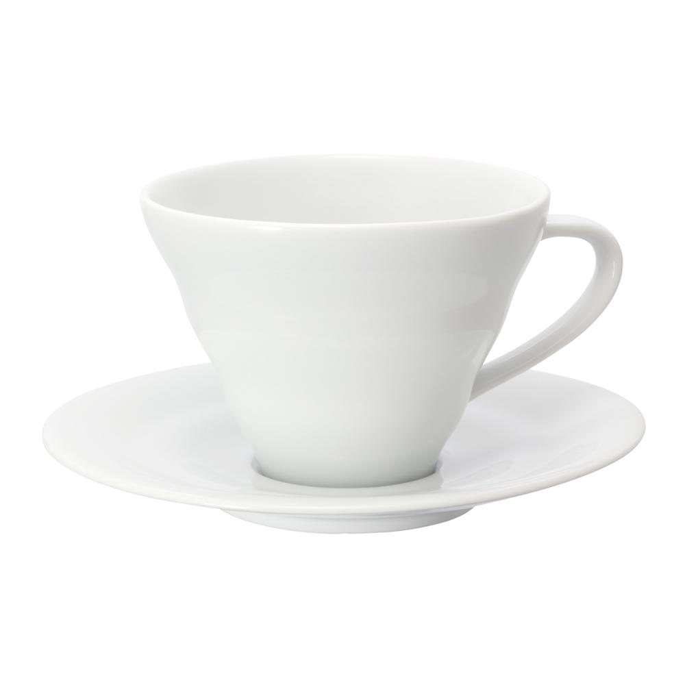 HARIO|V60白色雲朵咖啡杯盤組 CCS-1W
