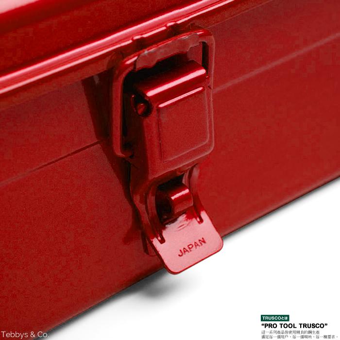 日本Trusco│ 工具箱 紅 Y350R