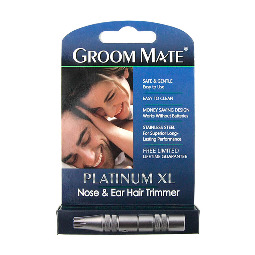 美國 Groom Mate|Platinum XL 免電超利修鼻毛器
