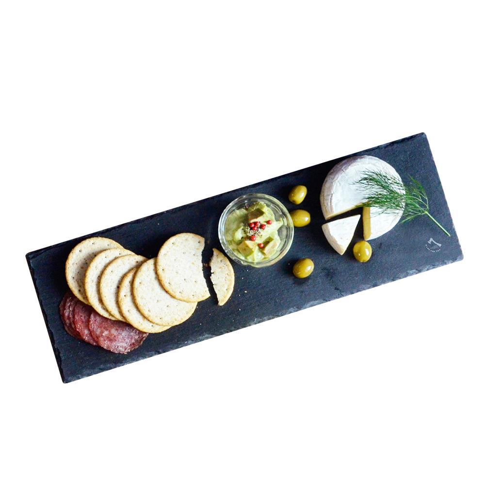 CB Japan|SLATE 自然風板岩餐盤 - 長型