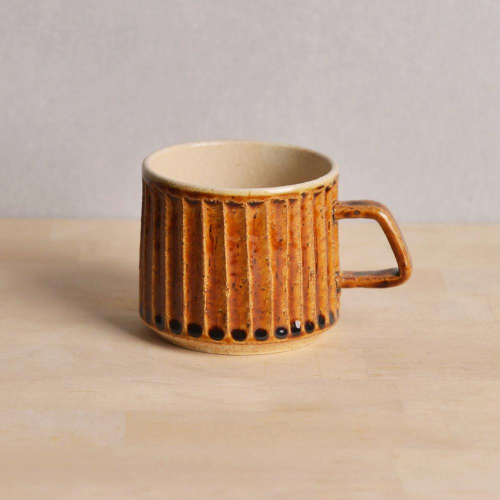 日本TOJIKI TONYA 美濃馱知仿古咖啡杯