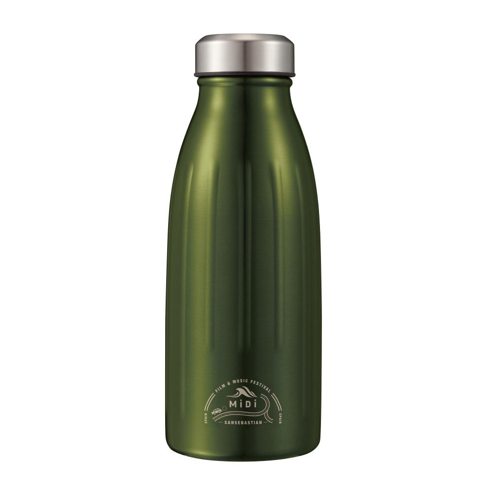 CB Japan|MiDi 城市系列雙層保冷保溫瓶350ml - 橄欖綠