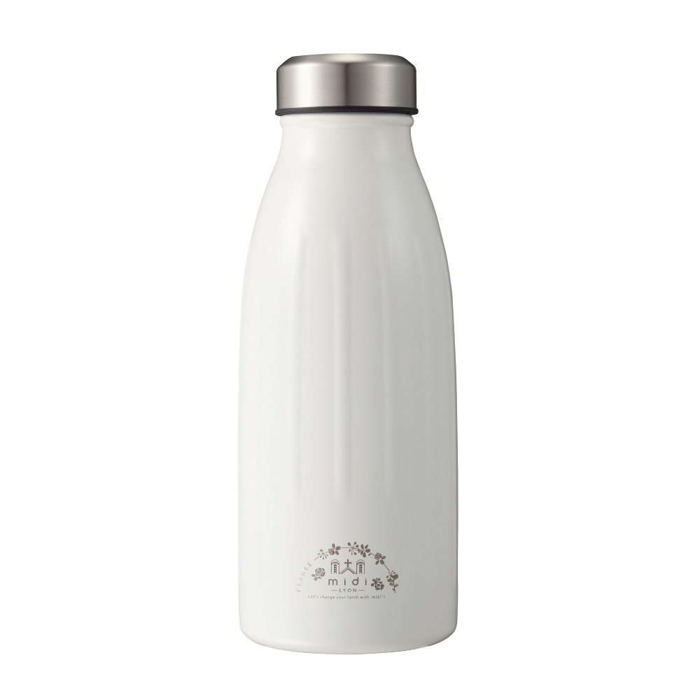 CB Japan|MiDi 城市系列雙層保冷保溫瓶350ml - 限定白