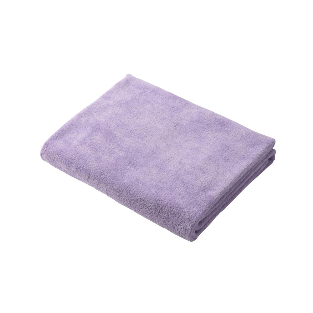 CB Japan 輕柔系列超細纖維3倍吸水擦頭巾 - 甜心紫
