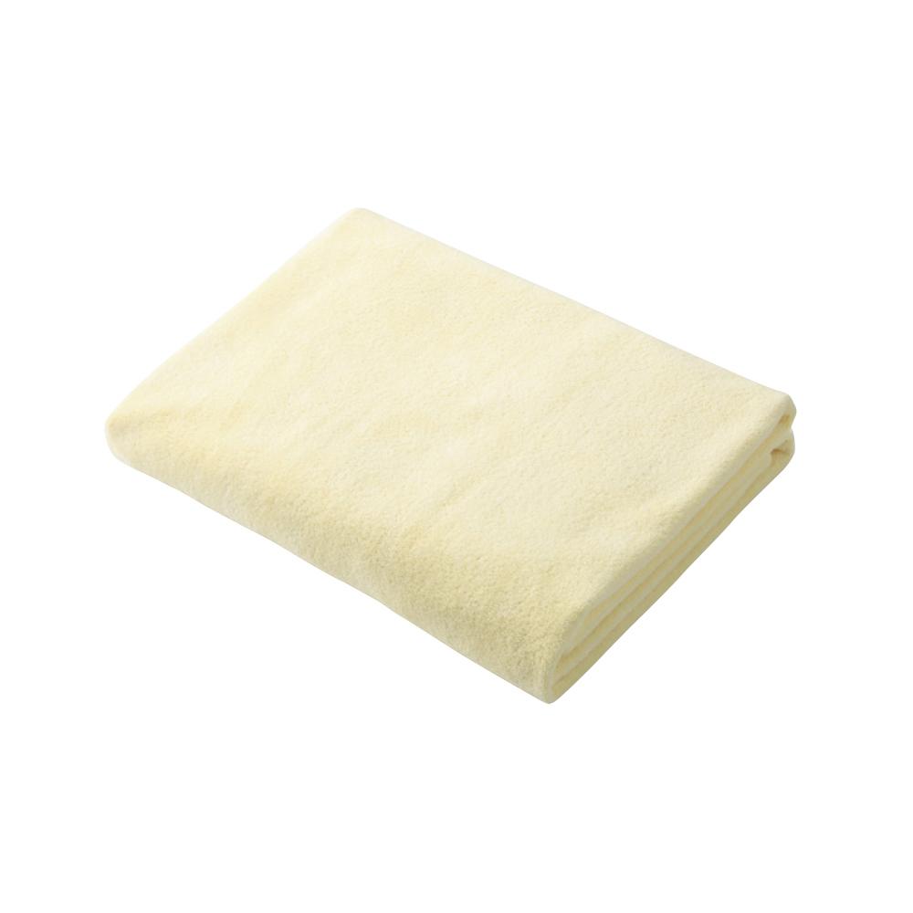 CB Japan 輕柔系列超細纖維3倍吸水擦頭巾 - 甜心黃