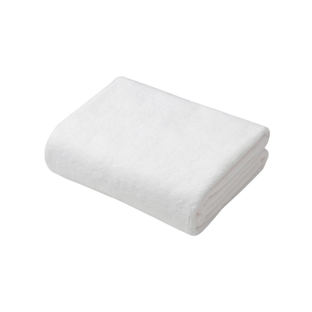 CB Japan|超柔系列超細纖維3倍吸水擦頭巾 - 典雅白