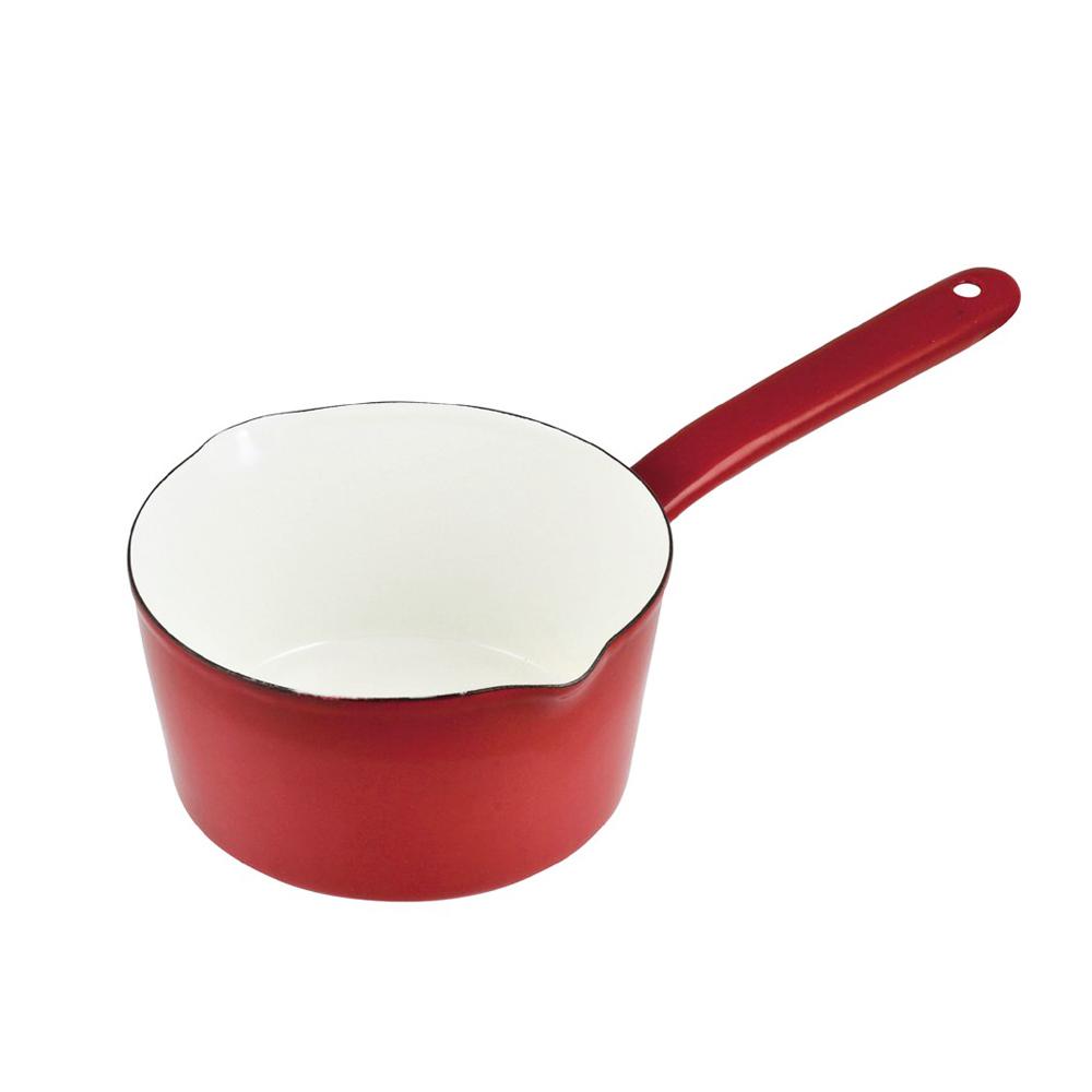 日本珍珠金屬|琺瑯單柄牛奶鍋