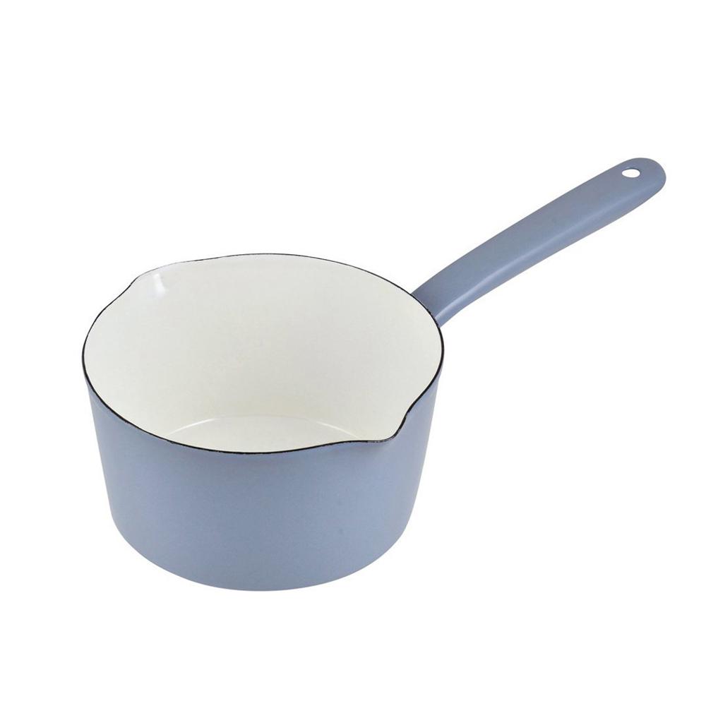 日本珍珠金屬 琺瑯單柄牛奶鍋