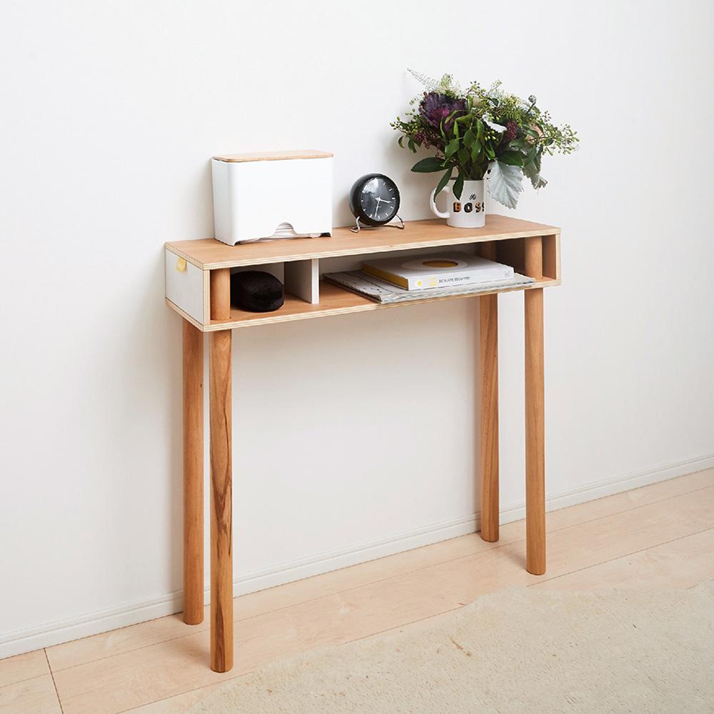 日本IDEACO 解構木板玄關桌