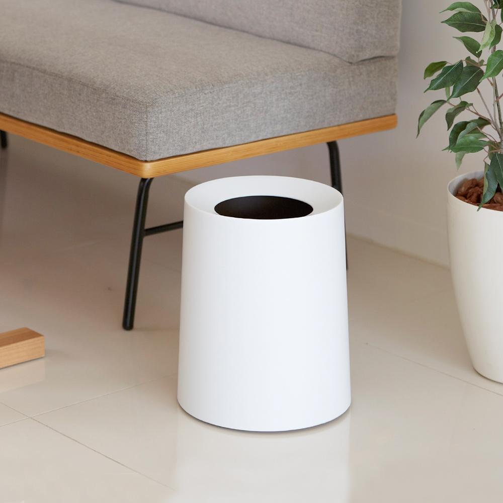 日本IDEACO|圓形家用垃圾桶-11.4L