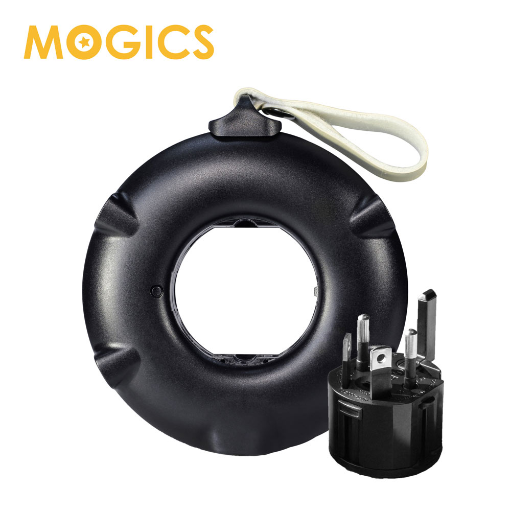 MOGICS Power Bagel 圓形排插   完美旅行充電座解決方案