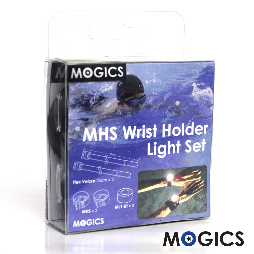 MOGICS|摩奇客燈戶外型 運動腕帶雙燈組